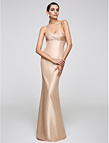 TS Couture®  Formal Evening Dress Trumpet / Mermaid Sweetheart Floor-length Taffeta with Side Draping