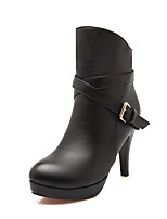 Women's Boots Winter Heels / Platform / Riding Boots /  Bootie / Comfort / Combat Boots / Pointed ToePatent Leather /
