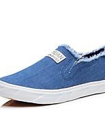 Men's Sneakers Amir New Fashion Comfort / Flats Canvas Casual Flat Heel Slip-on Black / Blue Walking