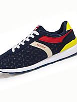 Homme / Femme-Sport-Noir / Bleu / Violet / Fuchsia-Talon Plat-Confort-Sneakers-Tulle