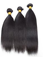 3 Pieces Straight Human Hair Weaves Brazilian Texture Human Hair Weaves Straight