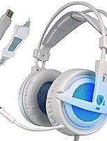 Sades A6 Наушники с оголовьемForМедиа-плеер/планшетный ПК / КомпьютерWithС микрофоном / DJ / Регулятор громкости / FM-радио / Игры /