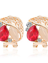 Alloy Earring Stud Earrings Daily /Wedding /Casual /party 1 pair