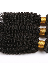 3pieces Brazilian Kinky Curly Virgin Hair,7A Brazilian deep Curly Hair Extensions 100% Real Human Hair Weave