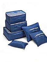 Multifunctional Travel Bag 6 Piece Six Piece Thickened Waterproof Fabric Mesh