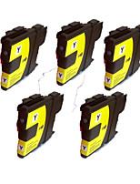 Brother MFC-J220 j270w картриджи тк-j410w j415w принтер lc980bk (черный 30мл) количество: пачка 5