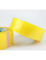4.5cm*2.5cm Transparent Yellow Packing Tape Sealing Box Packing 155 Meter Full Adhesive Tape can be Customized