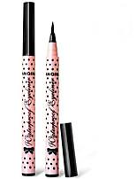 Eyeliner Crayons Humide Longue Durée / Etanches / Naturel / Séchage rapide Noir Yeux 1 1 PAYS DE COULEUR