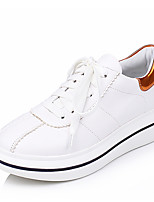 Women's Shoes  Comfort / Round Toe Sneakers Outdoor / Office & Career / Dress Platform Lace-up