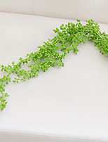 Hi-Q 1Pc Decorative Flowers Real For Wedding Home Table Decoration Plants Rattan Artificial Flowers