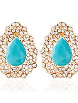 1pair/Red/Blue/Black  Stud Earrings forWomen