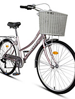 Comfort Bike Cycling 7 Speed 26 Inch/700CC 70mm Women's / Unisex Shimano RS-36-7  Right Shift Lever Center-pull Caliper Brake Non-Damping