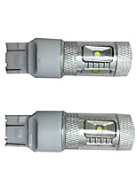 2 PCS Highlight section 30W 6 CHIP For Corolla special Car LED Turn Signal Lamp, Car Brake Lamp, Car Back-up Lamp