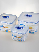 3 in 1 Set Vacuum Sealed Containers with Locks China Factory