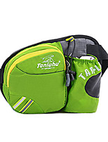 <20 L Waist Bag/Waistpack Camping & Hiking / Climbing Outdoor Waterproof / Wearable Green / Pink / Orange Nylon TanLuHu