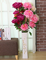 Hi-Q 1Pc Decorative Flowers Real For Wedding Home Table Decoration  Peonies Artificial Flowers