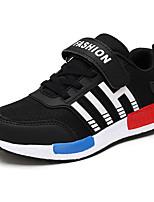Per bambino-Sneakers-Sportivo-Comoda-Piatto-Vernice-Nero / Blu / Blu reale