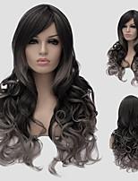 Synthetic Wigs European and American Wind Lolita Lolita wig color million partial wig