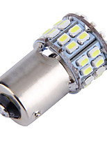 4pcs 1156 50SMD 1206 Car Brake Reserse Lights Fog Lamps Turn Signals Parking Bulb White(DC12V)