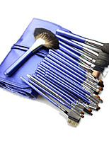 26 Brush Sets Kwast van geitenhaar Beugel Hout Gezicht ShangYang
