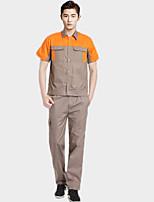 d318 с короткими рукавами костюм комбинезон послепродажного обслуживания электрика лето (размер: 175)