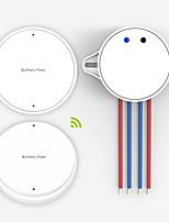 Wireless Self-Powered Push Button Light Wall Switch