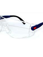 3m10196 Gafas de seguridad de laboratorio de arena de polvo de impacto contra la protección ocular de trabajo industrial