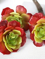 1pc 1 Une succursale Plastique Plantes Fleur de Table Fleurs artificielles 3.54inch/9