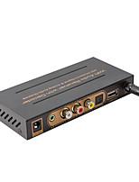 Hochleistungs-Wi-Fi-Audio-Receiver mit Decoder mit Multidigital&analoge Audioausgänge drahtlose Musikbox ezcast