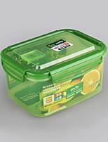 элемент бытовой замок клип контейнер для хранения 1,6 литра