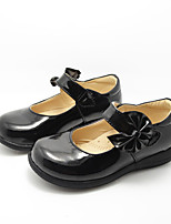 Girl's Flats Spring / Summer / Fall / Winter Comfort Leatherette Athletic / Casual Flat Heel Others Black Others