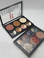 15 Palette de Fard à Paupières Sec Fard à paupières palette Poudre Normal Maquillage Quotidien