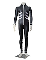 Inspired by Tokyo Ghoul Ken Kaneki Anime Cosplay Costumes Cosplay Suits Solid Black Long Sleeve Leotard