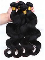 Peruvian Virgin Hair Body Wave 4Bundles 100% Human Hair Weave 6A Peruvian Body Wave