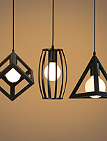 5 Lámparas Colgantes ,  Retro Pintura Característica for Mini Estilo Metal Sala de estar / Dormitorio / Comedor