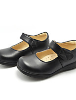 Girl's Flats Spring / Summer / Fall / Winter Comfort Leatherette Casual Flat Heel Others Black Others