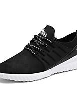 Синий / Серый / Черный и белый-Мужской-На каждый день-Тюль-На плоской подошве-Удобная обувь-Кеды