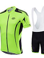 Sportif Vélo/CyclismeCuissard à bretelles / Shirt / Maillot / Maillot + Short/Maillot+Cuissard / Maillot + Cuissard/Maillot+Corsaire