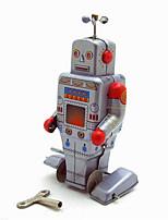 Игрушка новизны / Логические игрушки / Обучающие игрушки / Игрушка с заводом Игрушка новизны / / воин / Робот Металл Розовый Для детей