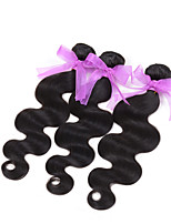 Brazilian Virgin body wave Hair Weaving Natural Black 8-26 inches 3PCS/Lot 100g/pcs Raw Unprocessed Hair Weft(26