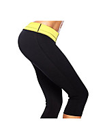 Running Crop Women's Breathable / Quick Dry / Comfortable Nylon / Chinlon Running Sports Inelastic Tight Outdoor