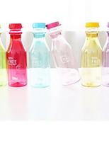 botella de agua portátil breaking no roto botella de refresco creativa