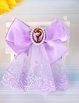 pinza de pelo arco de la tela de Disney florista coreano