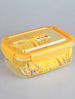 хозяйственные товары из пластика прямоугольный замок ящик для хранения крышка