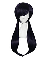 Cosplay Wigs Love Live Nozomi Tōjō Purple Medium / Straight Anime Cosplay Wigs 70 CM Synthetic Fiber Female