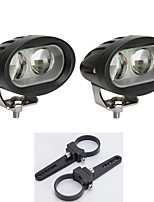 2X LED Cree Light Bars SUV 4WD ATV 4*4 Vehicles Offroad with A Pair of Mounting Brackets