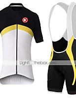 KEIYUEM®Summer Cycling Jersey Short Sleeves + BIB Shorts Ropa Ciclismo Cycling Clothing Suits #K141