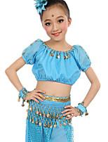 Accesorios(Fucsia / Azul claro / Morado / Azul Rey / Amarillo / Rojo Claro,Gasa Satén / Poliéster,Danza del Vientre) -Danza del Vientre-