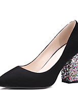Women's Heels Spring / Fall Heels / Pointed Toe Party & Evening / Dress Chunky Heel Slip-on  Others