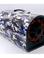 Automotive Supplies 8 Inch Camouflage Semicircle 12V Card Remote Control Subwoofer Speaker
